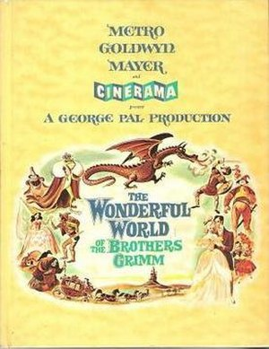 The Wonderful World of the Brothers Grimm - Souvenir program cover