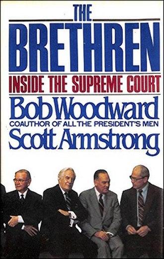 The Brethren (book) - Image: Woodward brethren