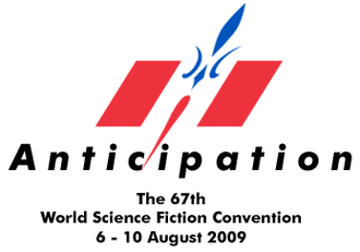 67th World Science Fiction Convention - Image: Worldcon 67 Anticipation logo
