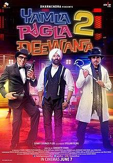 <i>Yamla Pagla Deewana 2</i> 2013 Indian film