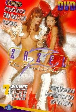 Zazel - Zazel - DVD cover (1997) features Gina LaMarca and Sasha Vinni.