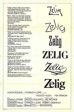 Zelig - Original poster