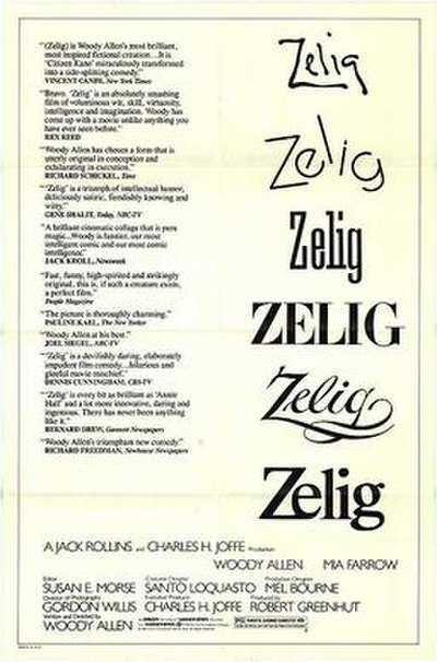 Picture of a movie: Zelig