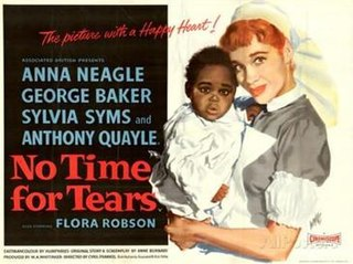 <i>No Time for Tears</i> (film) 1957 film by Cyril Frankel