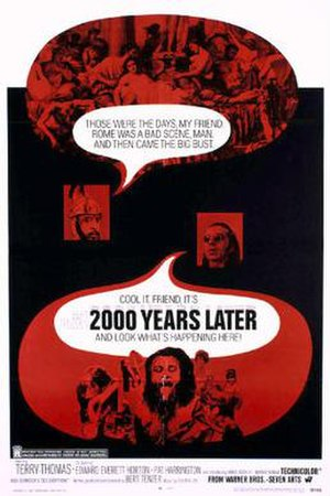 2000 Years Later - Theatrical release poster