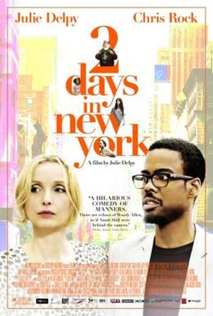 2 Days in New York - Theatrical release poster