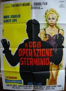 <i>008: Operation Exterminate</i> 1965 film by Umberto Lenzi