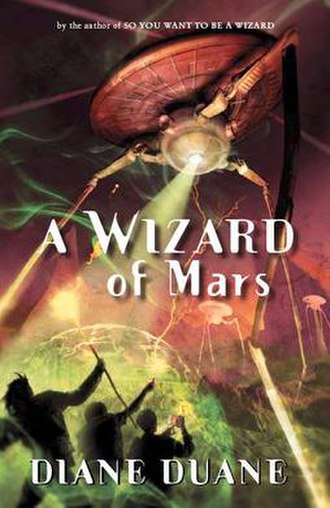 A Wizard of Mars - Cover art for A Wizard of Mars