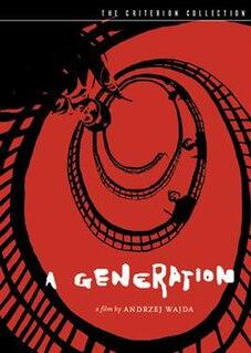 <i>A Generation</i> 1955 Polish film