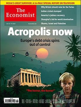Acropolis Now (Economist cover, May 1 2010)