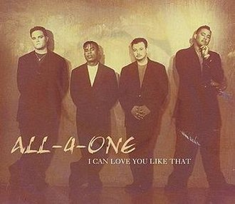 I Can Love You Like That - Image: All 4One Love You Like That single