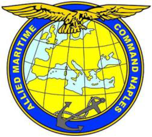 Allied Maritime Command Naples - Coat of arms