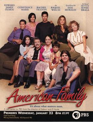 American Family (2002 TV series) - Series premiere print advertisement