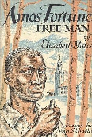 Amos Fortune, Free Man - Original cover illustration