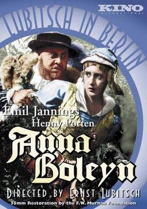 Anna Boleyn - Image: Anna Boleyn 1920Cover