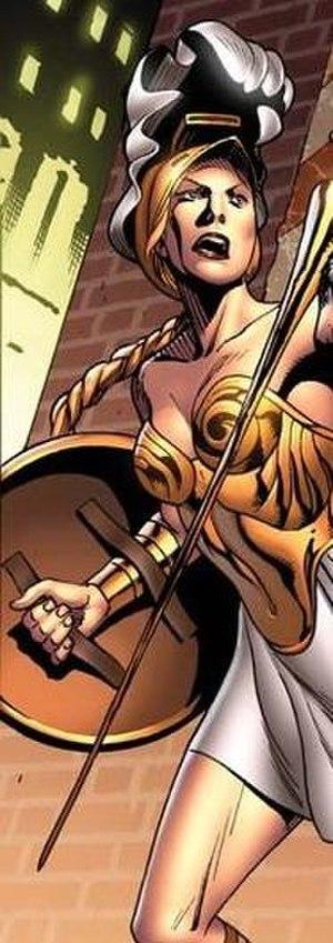 Athena (Marvel Comics) - Image: Athena in Hercules