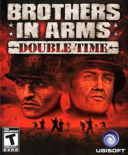 <i>Brothers in Arms: Double Time</i> first-person shooter video game compilation