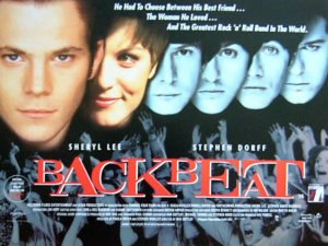 Backbeat (film) - UK film poster