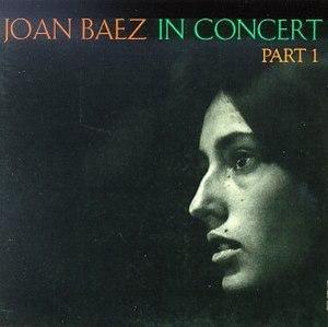 Joan Baez in Concert - Image: Baezin Concert 1