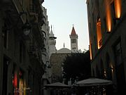 Mosque and Church in Downtown Beirut