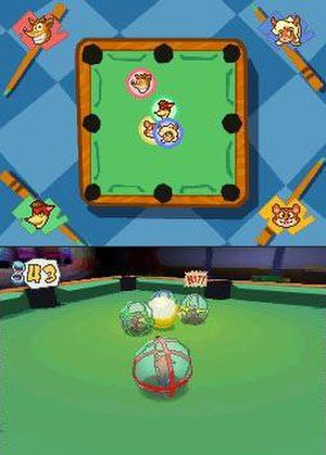 "Crash Boom Bang! - A game of ""Crash Billiards"" in Crash Boom Bang!"