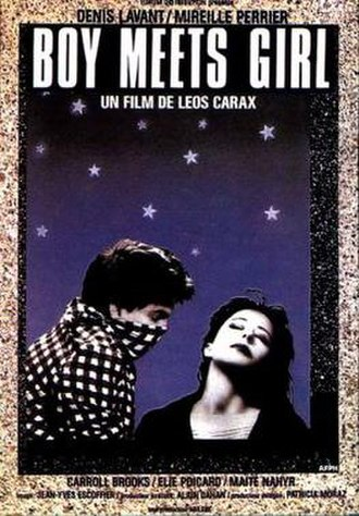 Boy Meets Girl (1984 film) - Theatrical release poster