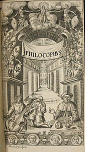 Frontispiece from Philocophus 1648