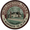 Official seal of Burlington, Massachusetts