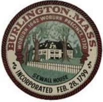 Official seal of Burlington, Massachusetts