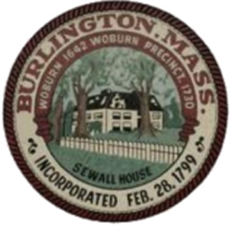 Burlington, Massachusetts - Image: Burlington MA seal