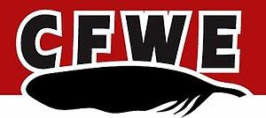 CFWE-FM - Image: CFWE 98.5 logo