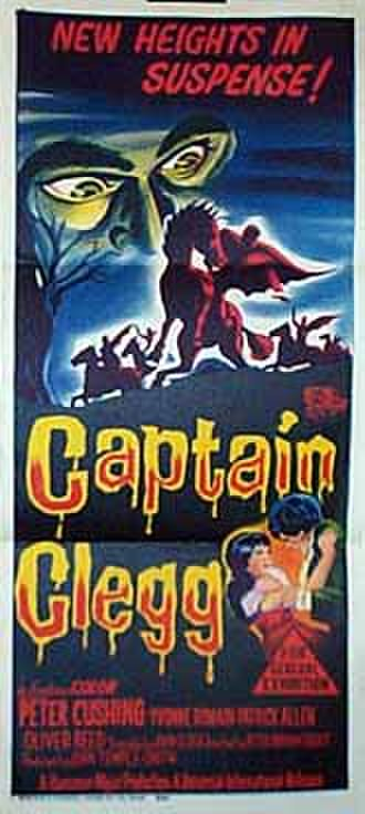 Captain Clegg (film) - Theatrical release poster
