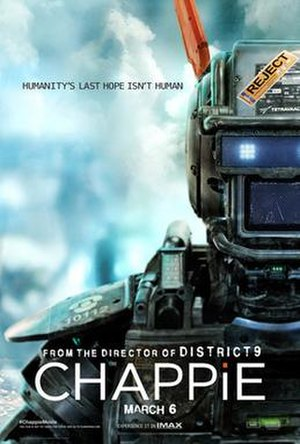 Chappie (film) - Theatrical release poster