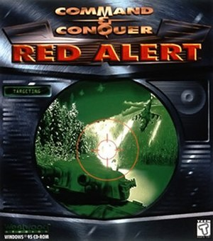 Command & Conquer: Red Alert - Cover art (Windows 95 version)