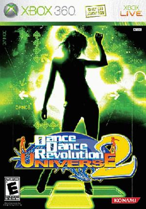 Dance Dance Revolution Universe 2 - Cover art