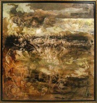 Kenneth Callahan - Dante's Inferno, undated, Kenneth Callahan