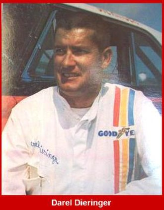 Darel Dieringer - Image: Darel Dieringer NASCAR Driver
