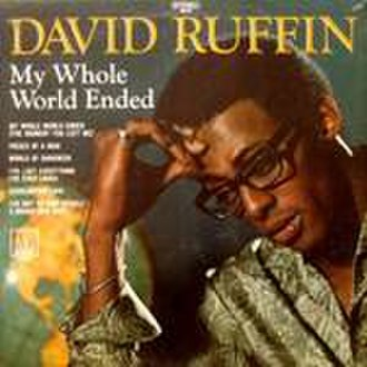David Ruffin - The album cover of Ruffin's solo debut LP released in 1969
