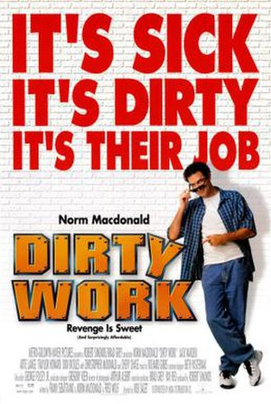 Dirty Work (1998 film) - Theatrical release poster