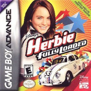 Disney's Herbie: Fully Loaded - Image: Disney's Herbie Fully Loaded Coverart