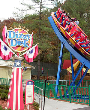 Zamperla - Image: Dollywood Dizzy Disk