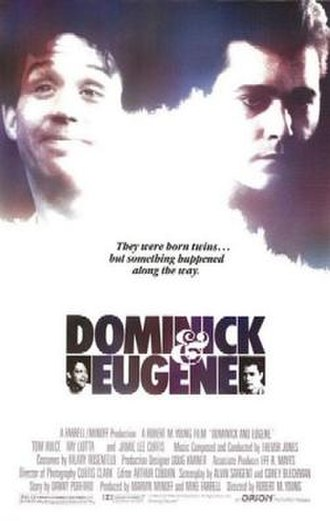 Dominick and Eugene - Theatrical release poster