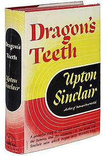 <i>Dragons Teeth</i> (novel) book by Upton Sinclair