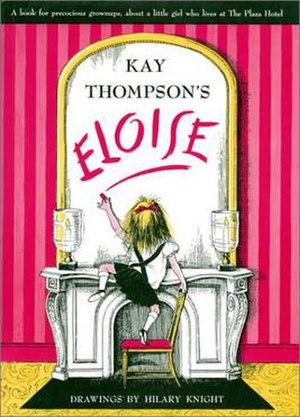Eloise (1955 book) - Image: Eloise book cover