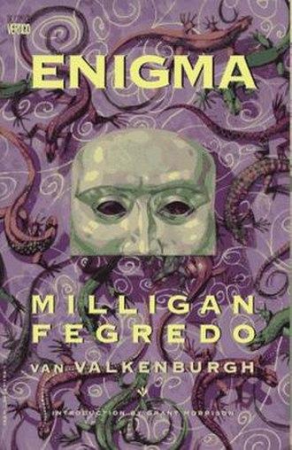 Enigma (Vertigo) - Cover of the Enigma trade paperback