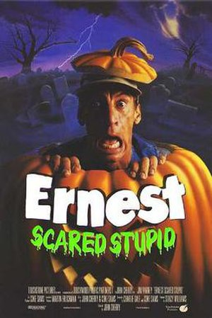 Ernest Scared Stupid - Theatrical release poster by John Alvin.