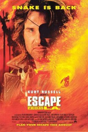 Escape from L.A. - Theatrical release poster
