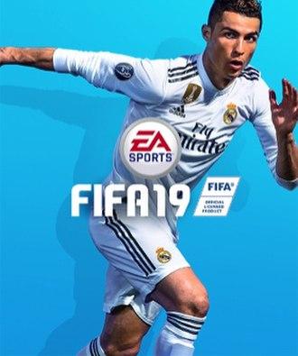 FIFA 19 - Cover art featuring Cristiano Ronaldo