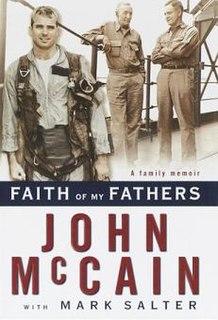 <i>Faith of My Fathers</i> book by John McCain