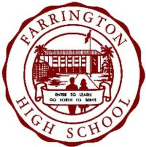 Farrington High School - Image: Farrington High School logo
